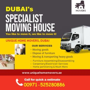 list of movers and packers Dubai