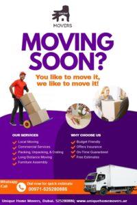 Movers in JLT Dubai